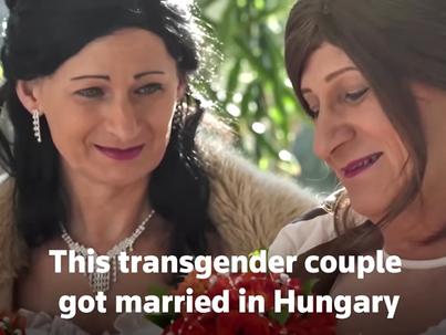 Megköttetett itthon az első transz és azonos nemű házasság