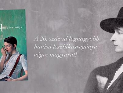 Megjelenésekor betiltották, mára leszbikus kultuszregény lett Radclyffe Hall könyve