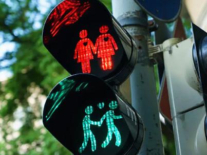 Egy német város betiltja az azonos nemű jelzőlámpákat?