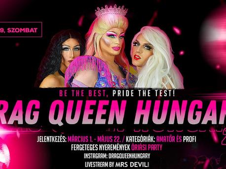 Újabb részletek a Drag Queen Hungary 2021 versenyről