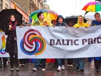 Uszítás a Balti Pride ellen