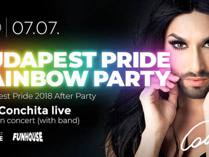 Conchita Wurst nyáron Budapadesten koncertezik