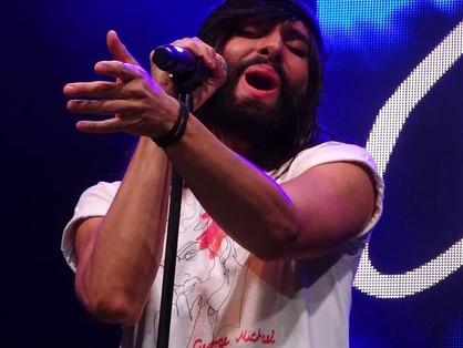 Conchita férfiként lépett színpadra a Rainbow partin