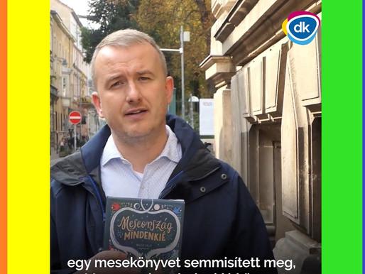 Tiltakozik a DK mesekönyv-darálás ügyben