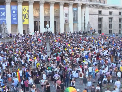 Utcára vonult Varsó LMBT-közössége szombaton