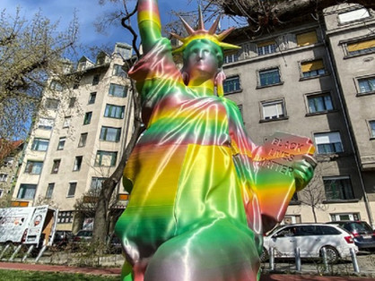 A járvány miatt döntötték le keresztények a BLM-szobrot?