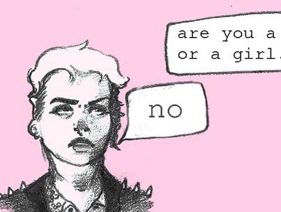 Lehetek egyszerre nem-bináris és leszbikus?