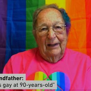 Karanténban coming outolt a 90 éves nagypapa