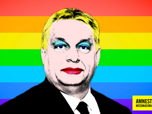 Az Amnesty kifestette Orbánt a homofób törvények miatt