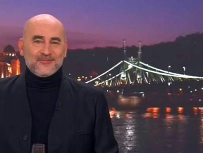 A nyíltan meleg Kulka János mondta az újévi köszöntőt az RTL Klubon