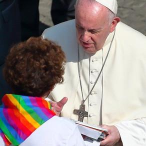 """Pápa: """"Az egyház olyannak szereti gyermekeiteket, amilyenek"""""""