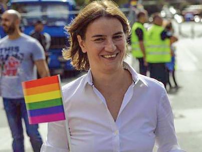 Miért nem kívánatos személy a szerb Pride-on  Ana Brnabic?