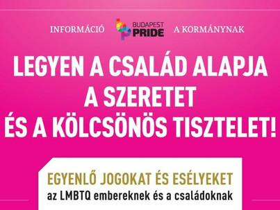 Homofóboknak üzent a Pride