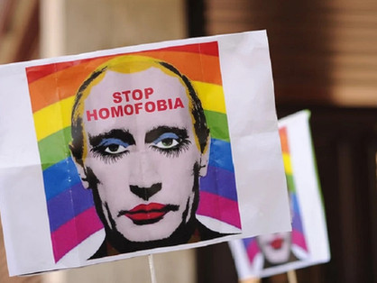 Az orosz melegek töményen ontják a putyini retorikát