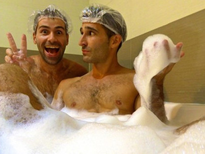 A fürdőkből is ki lettünk zavarva