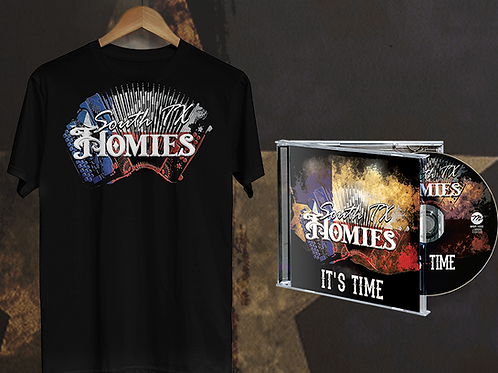 South Tx Homies - Fan Bundle CD & Tshirt