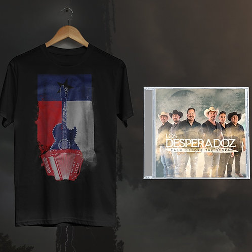 Los Desperadoz Fan Bundle - CD & TShirt
