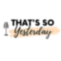 That's So Yesterday Logo.png