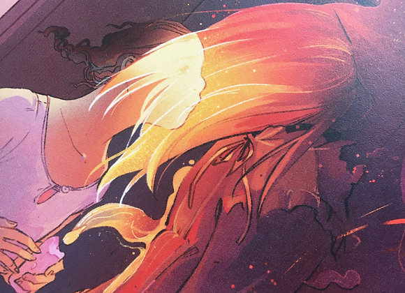 Spectral Flame - Print