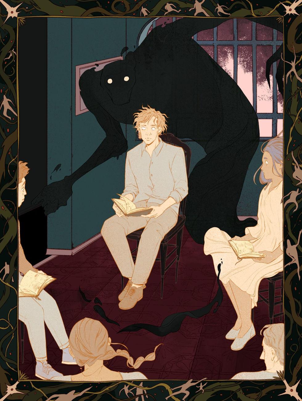 """Inspired by David Sharrock's short story """"Mummer Man""""."""