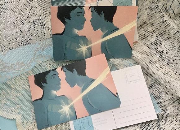 Lovestruck - postcard