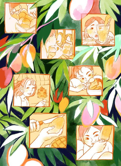 August: Mango