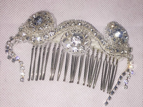 Stunning Crystal Hair Comb