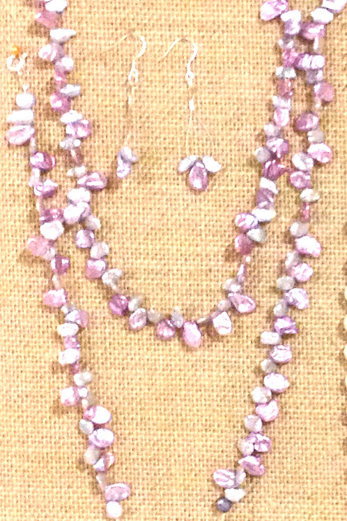 Beach - Necklace, Bracelet, Anklet, Earrings Suite