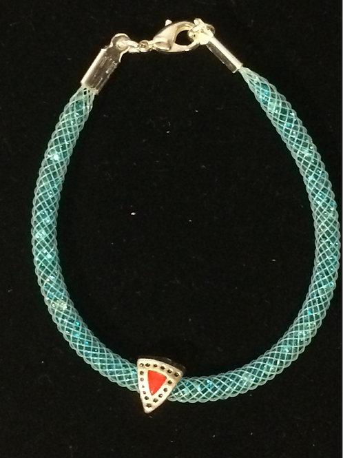 Swarovski-esque Bracelet - Clear Cr