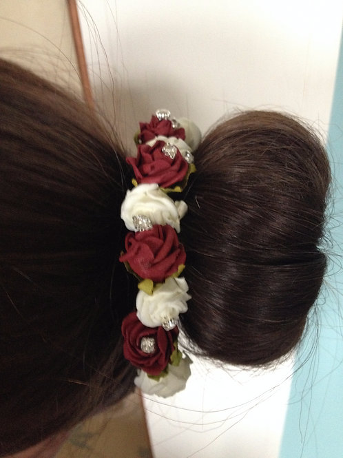Foam Flowers, big Range of Colours (in Pairs on a Bobby pin)