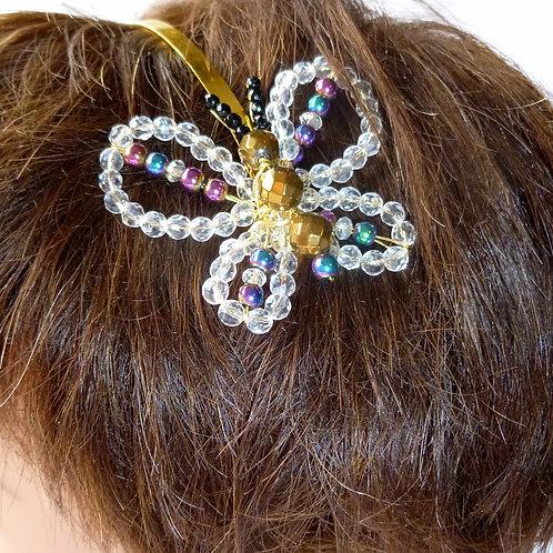 Semi-precious Butterfly Hairband