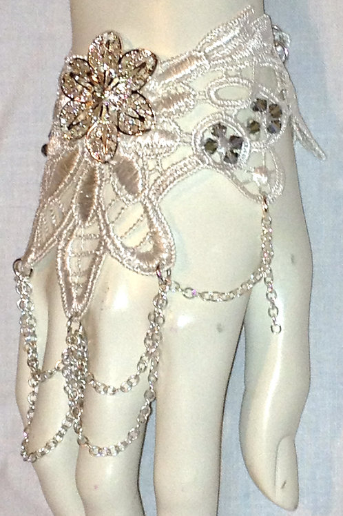 Hand, Foot or Neck Lace Decoration & Swarovski Crystals