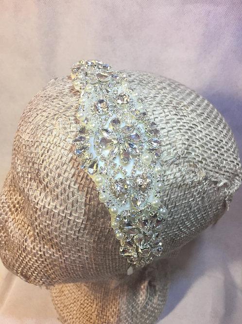Stunning Crystal & Pearl Headband