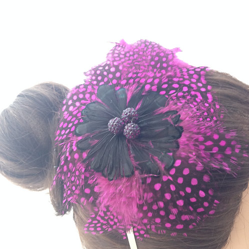 Feather Fascinator on a Hairband