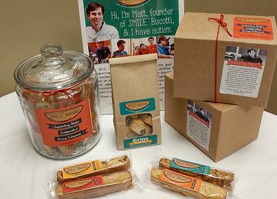 SMILE Biscotti - Custom Gifts