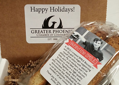 SMILE Biscotti Gifts - Greater Phoenix Chamber of Commerce
