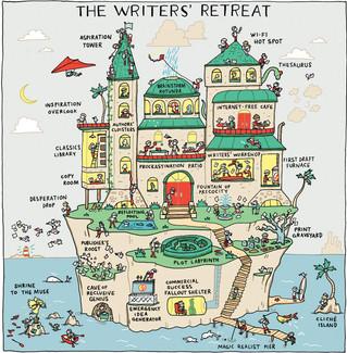 The writers' retreat