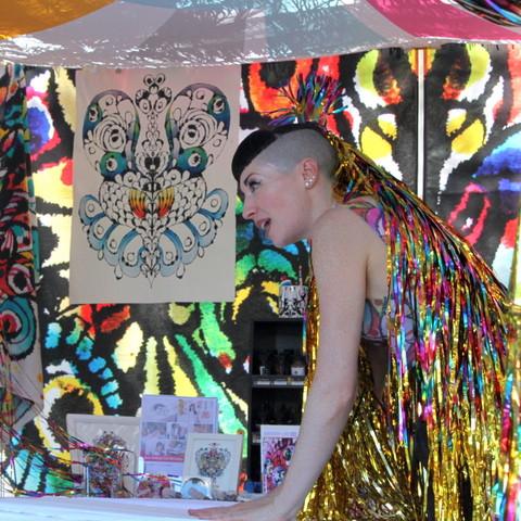 Newtown Festival - photo by Marjorie Lewis-Jones