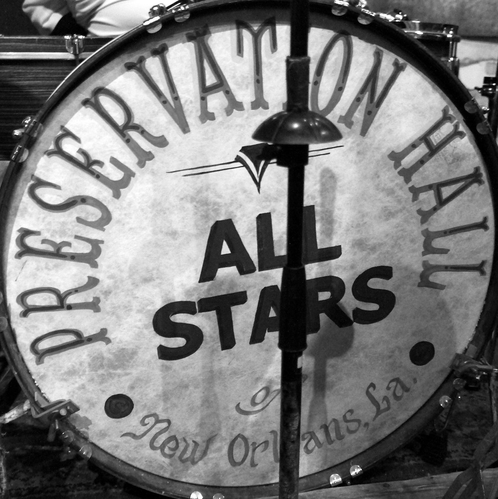 Preservation Hall All Stars bass drum