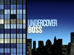Undercover Boss Vs Visible Leader