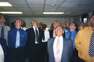 A Group of Happy Salespeople…