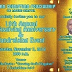 ACF Los Angeles Annual Thanksgiving and Fundraiser