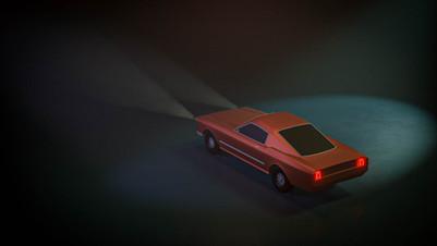 Back Mustang