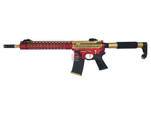 APS ASR121 FMR MOD1 Froged Match Rifle AEG (Gold/Red)