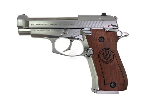 FCW x WE M84 GBB Pistol Airsoft W/ Custom Marking & Wood Grip SV