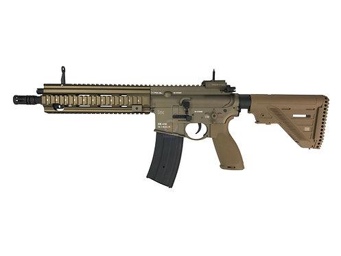 FCW HK416A5 Full Metal Full Marking Custom AEG Rifle Tan