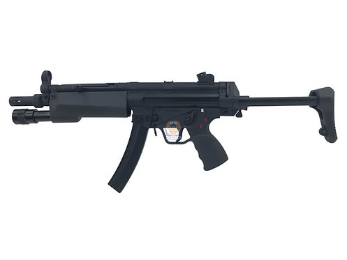 Classic Army MP002M MP5A3 AEG with Tactical Lighted Forearm