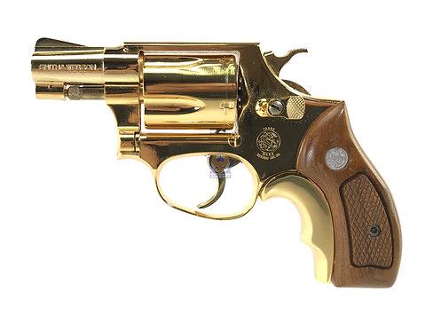 Kokusai S&W Chief Special .38 Metal Model Gun (Golden)