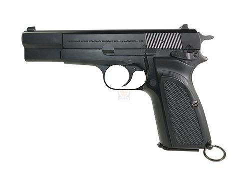 FCW x WE Browning Hi-Power MK3 MKIII GBB Pistol Airsoft W/ Custom Marking (BK)