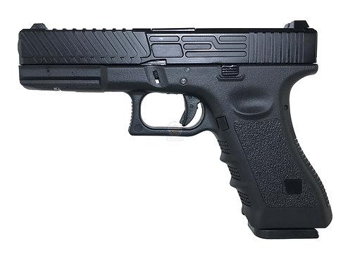 Army R17-2 Raptor Style G17 GBB Pistol (BK)